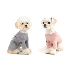 WEFAM ACE 티셔츠 그레이+핑크 SET