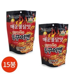 경진식품 꼬마 꾸이맨 매운불닭맛 50g x 15봉