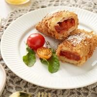 심쿵한 피자 치즈 롤까스 (120g*2개) * 6팩 + 소스 6봉_(817916)