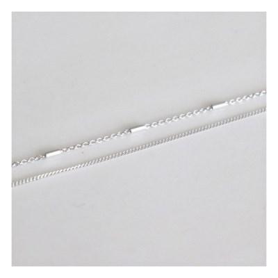 [Silver925] Slim line bracelet_(1555298)
