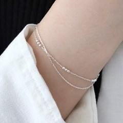 [Silver925] Layered ball bracelet_(1555291)