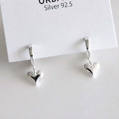 [Silver925] Cozy heart earring_(1555287)