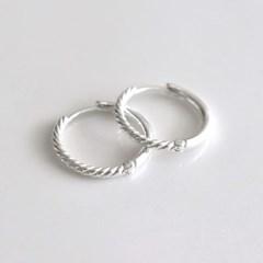 [Silver925] Double sided earring_(1555285)