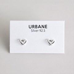 [Silver925] Romance heart earring_(1555282)
