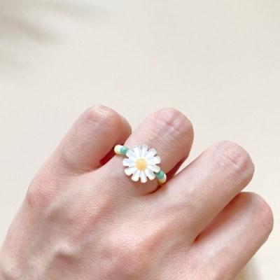 (제작) 들꽃 비즈반지