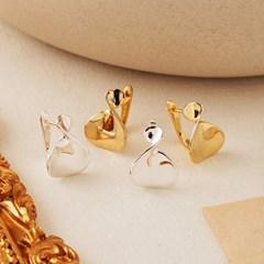[925실버] 바이엘 꼬임 귀걸이 (21ES016)