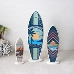 그래픽 서핑보드 모형(3style 3size)