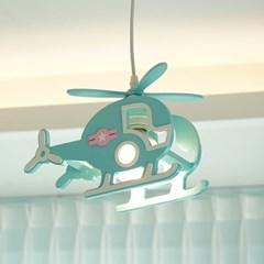 스타 헬기 LED 수입 어린이 펜던트 방등 조명