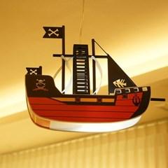 해적선 LED 수입 어린이 펜던트 취침 조명