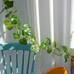 생동감 있는 포도잎 긴 넝쿨 조화