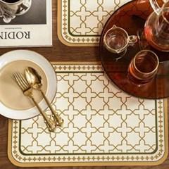 프리미엄 방수 PVC 식탁 테이블 매트 / 럭셔리