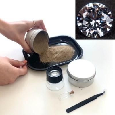 다이아몬드 채굴 이색체험 키트
