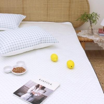 물방울 쿨링 접촉냉감 여름 침대패드 겸 카페트(S/Q)
