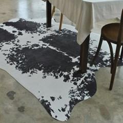 프리미엄 인조가죽-카우(블랙) (155x190cm)