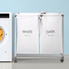 보노 스텐 세탁물 분리보관함 시리즈 (화이트/핑크블루)_(3165143)