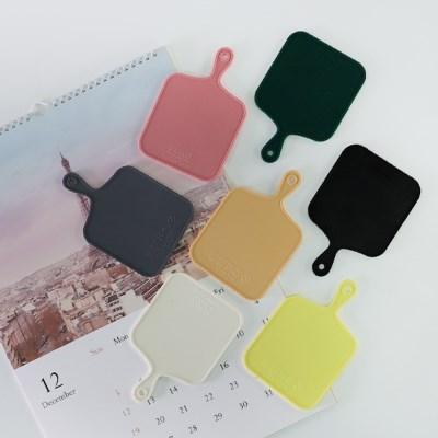트리니 사각 실리콘 컵받침 7color