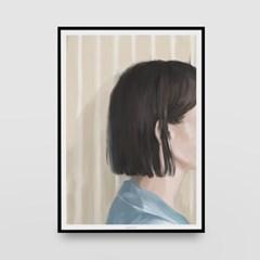 일러스트 포스터 / 인테리어 액자_lonely 01
