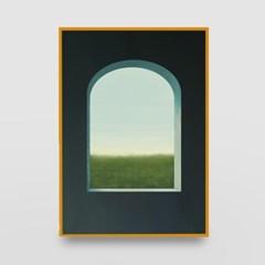 일러스트 포스터 / 인테리어 액자_window 05