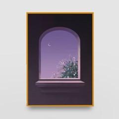 일러스트 포스터 / 인테리어 액자_window 03