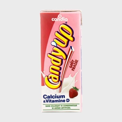 캉디아 캔디업 딸기맛 우유