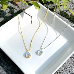 [Silver925] Opal necklace_(1556125)