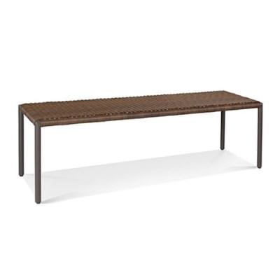 스프링필드 벤치 테이블 1500 고급 티크 원목
