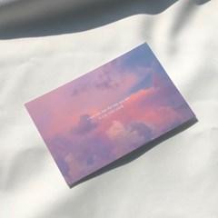로그먼트 메세지 카드 하늘엽서