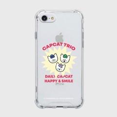 trio capcat [탱크투명 폰케이스]