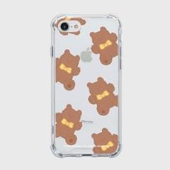 pattern teddy gummy [탱크투명 폰케이스]