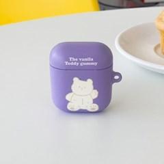 vanila teddy gummy [hard 에어팟케이스]