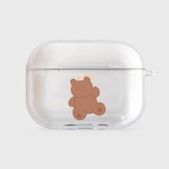 toy teddy gummy [clear 에어팟프로케이스]