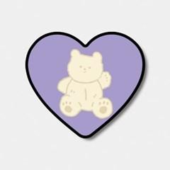 [하트톡♥] vanila teddy gummy
