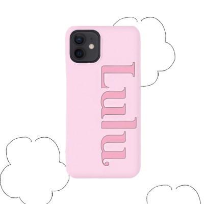 logo case _ lilac pink