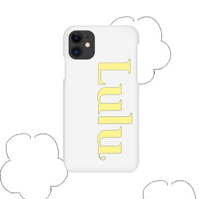 logo case _ matt yellow