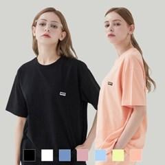 [1+1][단독구성] 베이직 로고 티셔츠 (7컬러)