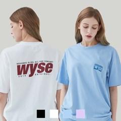 [1+1][단독구성] 컴포트 프린트 티셔츠 (4컬러)
