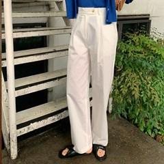 로나 핀턱와이드팬츠 (2color)