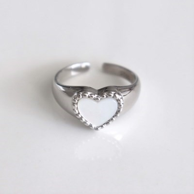 [Silver925] Cozy heart ring_(1557295)