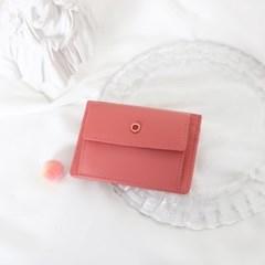 [1+1] Blumen Pocket Card Wallet - Coral_(1061479)