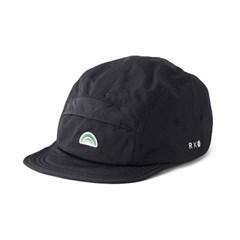 로우로우 X 마더그라운드 캠프캡 100 Black