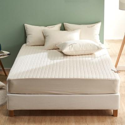 라운드 오가닉 유기농 목화 침대 매트리스 커버 S