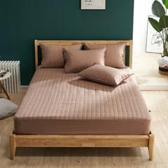 크라운 면 60수 항균 먼지없는 침대 매트리스 커버 SS