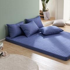 크라운 고밀도 면60수 침대 라텍스 커버 SS 100x200x5