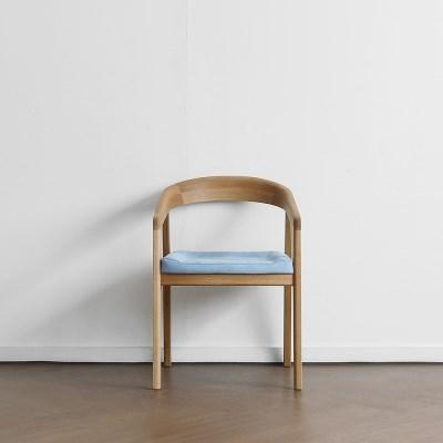 [오크] R형 의자 스카이블루_(1754802)