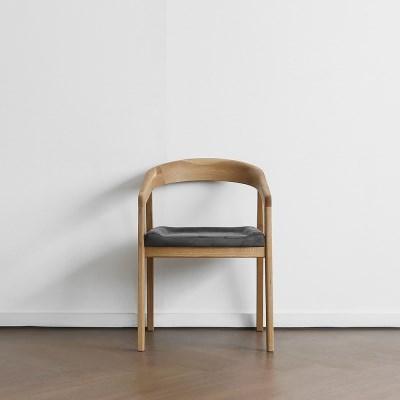 [오크] R형 의자 진그레이_(1754803)