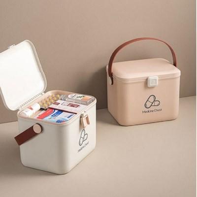 휴대용약통 케이스 다용도 보관함 파스텔컬러 디자인 2color