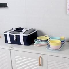 멜라민캠핑 15p 원형식기세트 접시공기세트