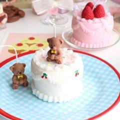 빈티지 케이크 캔들