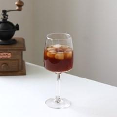 홈카페 유리컵 유리잔 와인잔 350ml