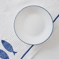 블루보카시 접시 16cm_(1889675)